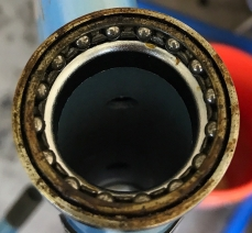 Original condition of head tube